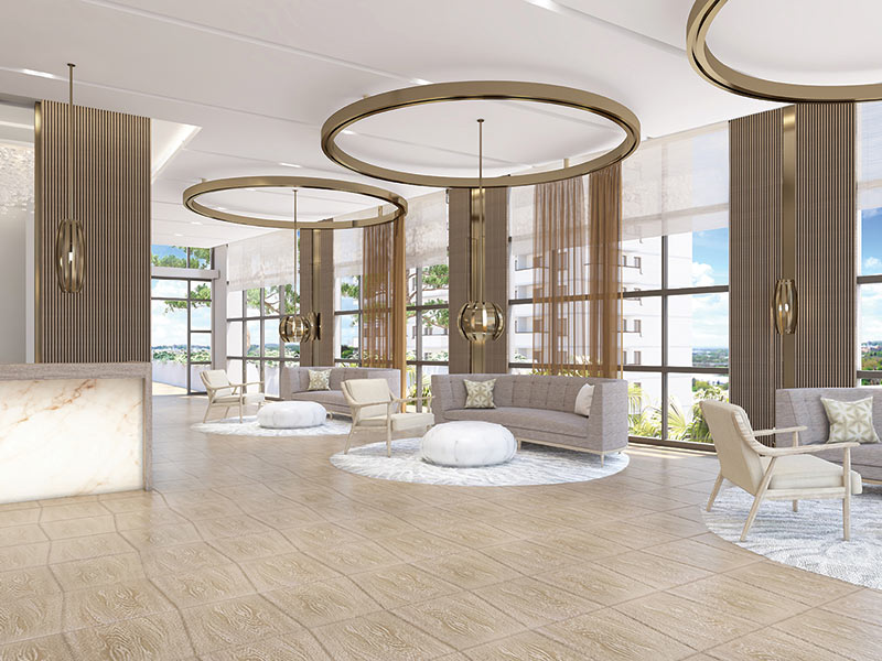 Amrit wellness spa lobby and consultation rooms