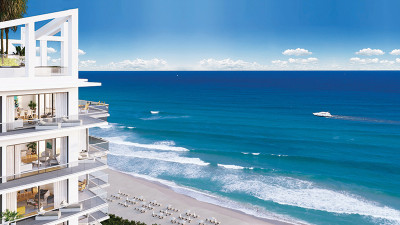 Amrit luxury oceanfront condos and rooftop penthouses