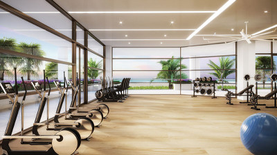 State of the art oceanfront luxury fitness center