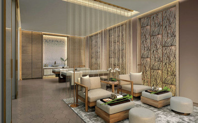 Amrit luxury wellness spa couples treatment room