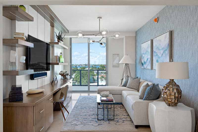 Amrit Residences luxuriously appointed model home den